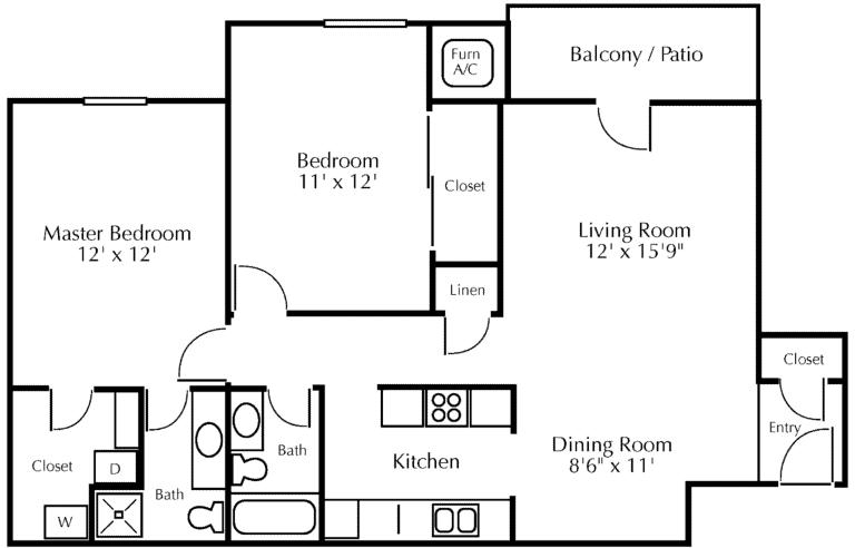 Forest Ridge Floor Diagram 2