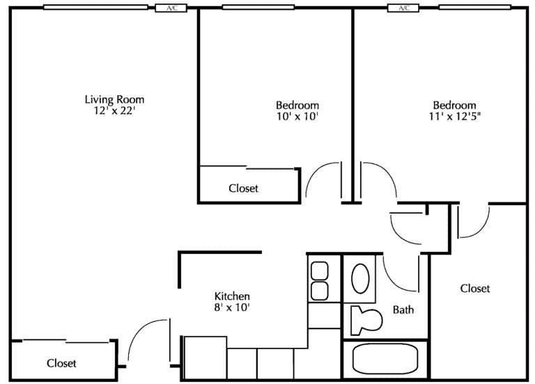 Surrey Gardens Floor Diagram 2