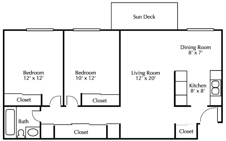White Oaks Floor Diagram 2
