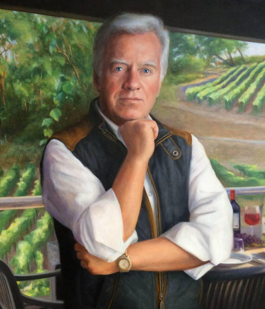 Dan Gustafson Self Portrait